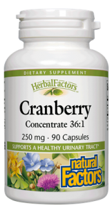 Cranberry juice (Vaccinium macrocarpon)  helps to support a healthy bladder and urinary tract for men and women..