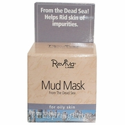 Mud Mask by Reviva Labs is made with mud from the Dead Sea- containing minerals and salts, Mud Mask cleanses, smoothes, detoxifies, and brightens skin..