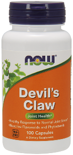 Devils Claw (Harpagophytum procumbens) is a tree native to the southern regions of Africa and gets its name from the hooks which cover it's fruit. It is known for reducing inflammation and relieving pain..