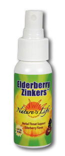 Elderberry Zinker by Nature's Life is a special blend of herbs and vitamins that work together to boost the body's immune system function..