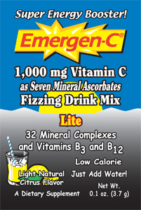 Emergen-C flavored fizzy drink mixes offer a fast, fun and enjoyable way to keep you feeling good..