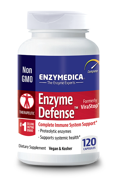 Enzyme Defense contains the highest available potency of an exclusive blend of proteases to assist the
