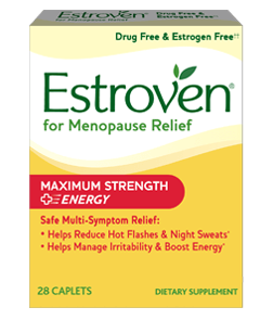 Hormone imbalance may often cause fatigue, irritability, weight gain, moods swings and sleepless nights. Estroven Plus Energy combines a unique blend of herbs to boost your energy levels and provide a feeling of well being. All natural multi-symptom relief..