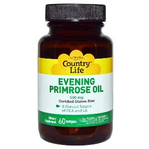 Evening Primrose Oil is a natural source of GLA for Relieving Menopause Symptoms.