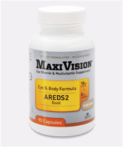 Patented Vision & Body Support. Evidence based Eye Nutrition plus Complete Daily Multivitamin. Providing essential nutrients in the National Eye Institutes AREDS2 Study..