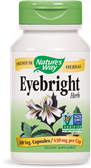 Nature's Way Herbal Formula Eyebright  is a naturally derived product designed to support and maintain healthy eye function..