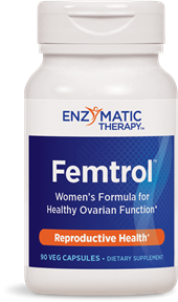 Comprehensive formula delivers phytoestrogens to benefit menstrual health in women. Femtrol blends a variety of effective herbs including dong quai, licorice root, chaste tree berry, black cohosh, fennel, and false unicorn root..