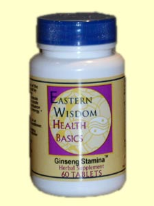 Eastern Wisdom Ginseng Stamina (60 Tabs) is the perfect ginseng supplement for any active person..