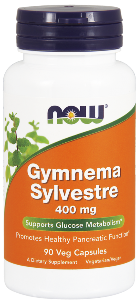 NOW Gymnema sylvestre Extract is a standardized herbal extract which supports healthy glucose metabolism and pancreatic functions. Our Gymnema extract is standardized to contain a minimum of 25% Gymnemic Acid..