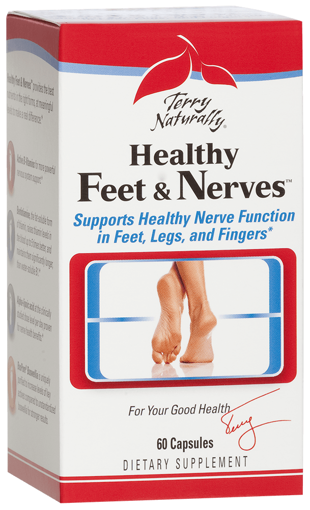 Do you suffer from Neuropathy? Healthy Feet and Nerves - Voted one of 10 Best New Products of 2012 by Vitamin Retailer Magazine for those who need to increase circulation and relieve symptoms associated with poor circulation..