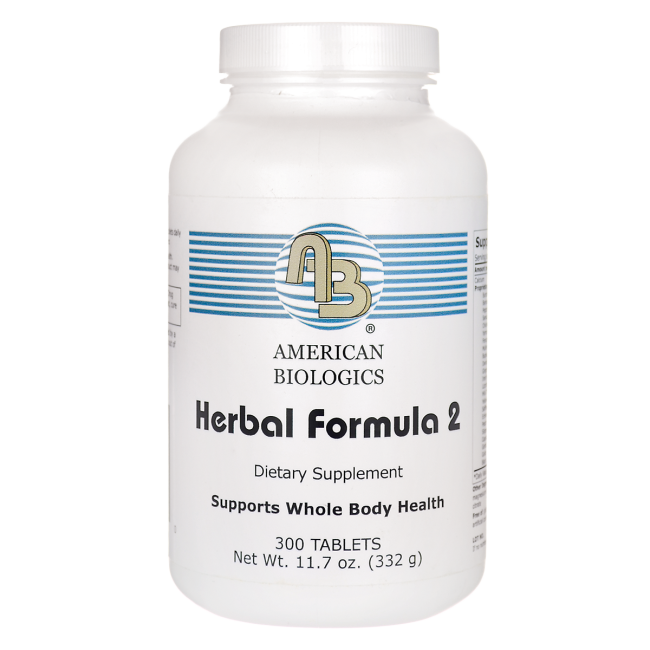 The American Biologics Herbal 2Cleansing Program was formulated to help support the natural structure and function of your body's eliminative channels..