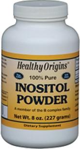 Inositol Powder (8 oz) Healthy Origins 2019