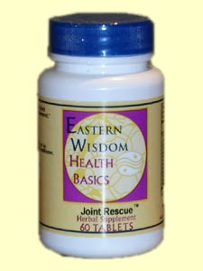 Eastern Wisdom Joint Rescue (60 Tabs) is an effective way to help support the joints and connective tissues..