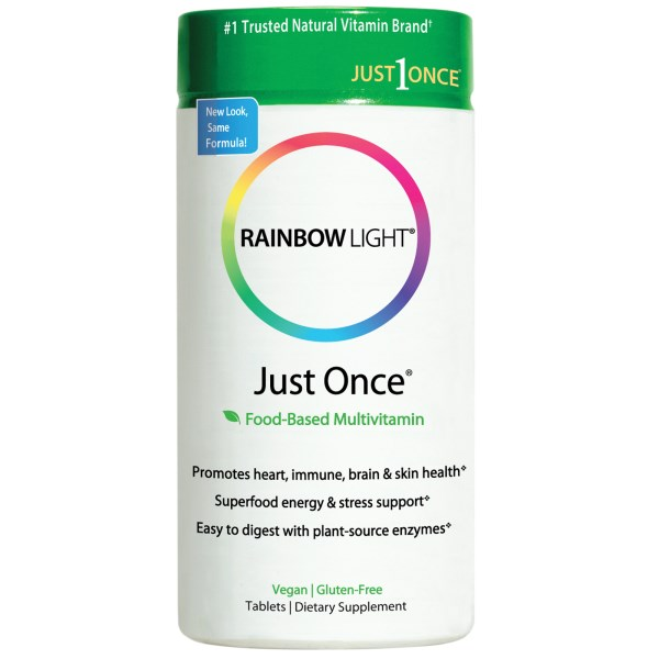 Just Once a whole food based Multivitamin (120 tabs) is a complete multivitamin for nutritional support and all day energy. Plus plant-source enzymes to ease digestion. Buy at Seacoast Vitamins Today..