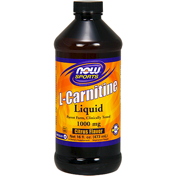 Ask anyone committed to a healthy lifestyle - absorption is essential. With this in mind, each serving of NOW Liquid L-Carnitine delivers 1000 mg of the highest potency L-Carnitine available today. And while small amounts of this crucial amino acid can be found in red meats and dairy products, supplementation has been used and trusted by people from every walk of life. Known for its cellular energy boosting and post workout recovery properties, NOW Liquid L-Carnitine serves as an excellent addition to your healthy lifestyle.* NOW.