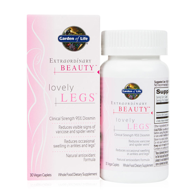 Poor circulation in the legs can be uncomfortable resulting in a heavy feeling in the legs. Lovely Legs is formulated to increase circulation and reduce signs of spider veins, varicose veins, reduce swelling and improve the integrity. Gluten, Dairy and Vegan Friendly..