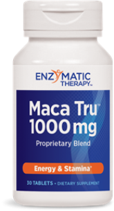 The unique compounds in Maca Tru support energy and stamina.