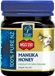 Certified Manuka Honey to contain at least 250mg of methylglyoxal. 100% Pure New Zealand Manuka Honey. Sustainably harvested..