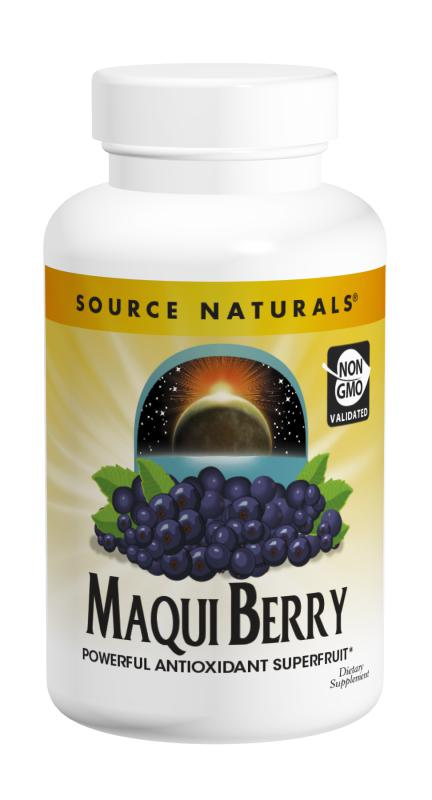 Maqui is a powerful superfruit containing antioxidants which can help to protect cell damage. Foods like fruits and vegetables are high in antioxidant protection and beneficial for overall health..