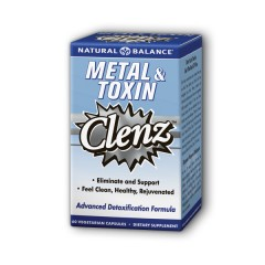 Metal & Toxin Clenz cleanse from Natural Balance is a naturally gentle blend of herbs which supports the body's natural cleansing process..