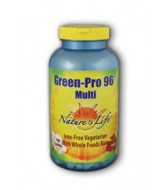 Green Pro 96 Multivitamin Nature's Life