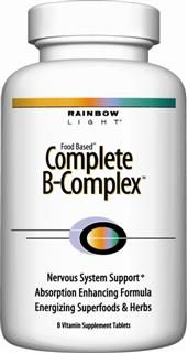 Complete B Complex (180 tablets)* Rainbow Light