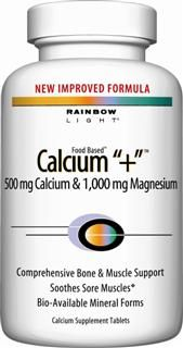 Calcium Plus (180 tablets)* Rainbow Light