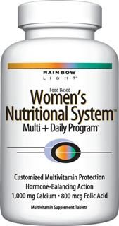 Women's Nutritional System (120 tablets)* Rainbow Light