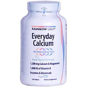 Everyday Calcium (120 tablets)* Rainbow Light