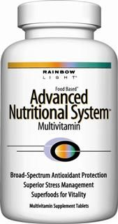 Advanced Nutritional System (240 tablets)* Rainbow Light