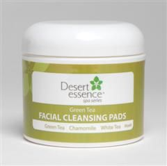 Green Tea Facial Cleansing Pad (50 pads) Desert Essence