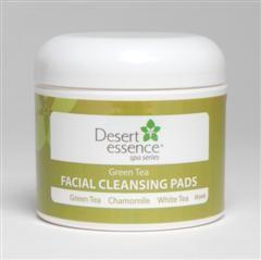 Green Tea Facial Cleansing Pad (50 pads) Desert Essence