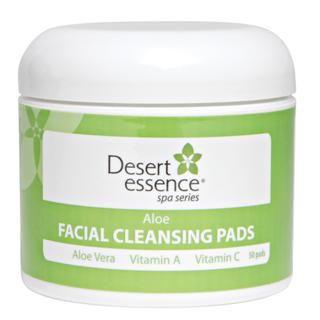 Aloe Facial Cleansing Pads (50 pads) Desert Essence