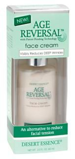 Age Reversal Face Cream (2 oz) Desert Essence