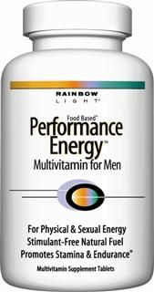 Performance Energy Multivitamin for Men (180 tablets)* Rainbow Light