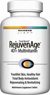 RejuvenAge 40+ Multi (120 tablets)* Rainbow Light