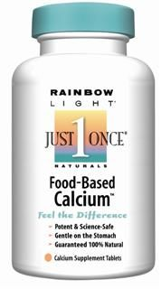 Food-Based Calcium (180 tablets)* Rainbow Light