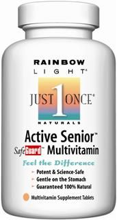 Active Senior Safeguard (30 tablets)* Rainbow Light