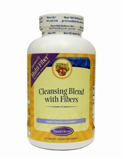 Cleansing Blend with Fibers | Multi-Fiber (275 Tabs) Nature's Secret
