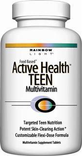 Active Health TEEN Multivitamin (30 tablets)* Rainbow Light