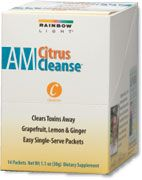 AM Citrus Cleanse (14 packets)* Rainbow Light