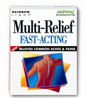Multi-Relief (30 tablets)* Rainbow Light