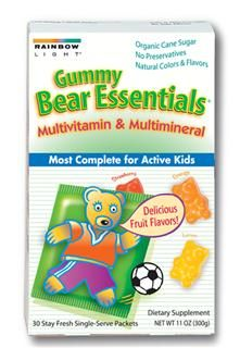Gummy Bear Essentials Multivitamin & Multimineral (30 packets)* Rainbow Light