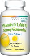 Vitamin D 1000 IU Sunny Gummies (100 count)* Rainbow Light