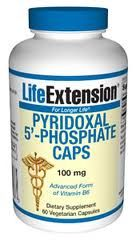 Pyridoxal 5-Phosphate 100 mg (60 caps)* Life Extension
