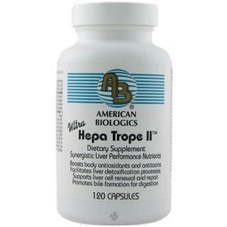 Hepatrope II (120 capsules) American Biologics