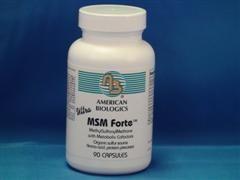 MSM forte (90 capsules) American Biologics