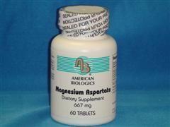 Magnesium Aspartate (60 tablets) American Biologics