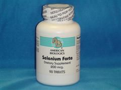 Selenium (90 tablets) American Biologics