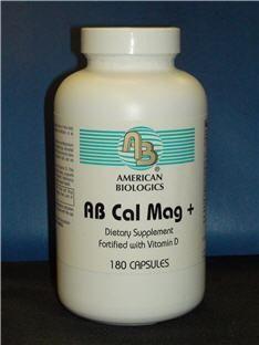 AB Cal Mag Plus (120 capsules) American Biologics